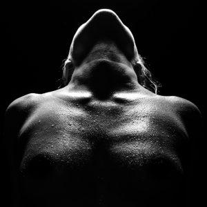 Artistieke foto, silhouet foto, fine art nude